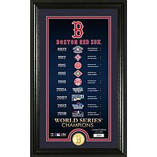 Boston Red Sox Legacy Supreme Bronze Coin Photo Mint
