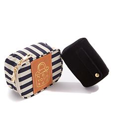 "Boulevard ""Zoe"" Mini Travel Jewelry Case"