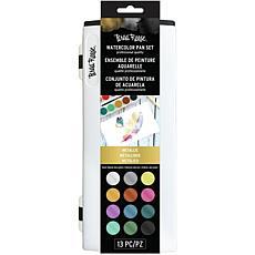 Brea Reese Watercolor Pan Paint Set 13-pack - Metallic