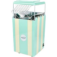 Brentwood Classic Striped 8-Cup Hot Air Popcorn Maker - Blue