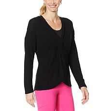 """Brittany Humble """"ComfyxCozy"""" Reversible Twist Sweater"""