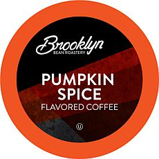 Brooklyn Bean Pumpkin Spice Flavored Coffee Pods, 40 Count