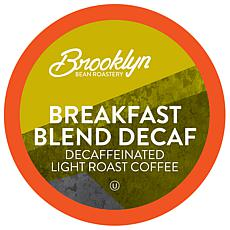 Brooklyn Beans Breakfast Blend Decaf Coffee Pods 40-count