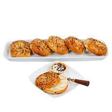 Brooklyn Food Group (24) 4 oz. Assorted Flavor Kettle Boiled Bagels