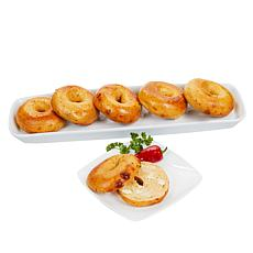 Brooklyn Food Group (24) 4 oz Jalapeno Kettle Boiled Bagels Auto-Ship®