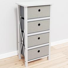 Brookside Four Drawer Fabric Storage Chest
