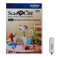 Brother ScanNcut 3D Paper Craft USB