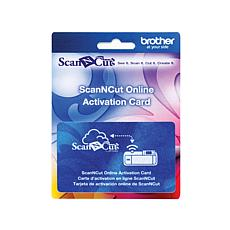 Brother ScanNcut Wireless On-Line Activation Card
