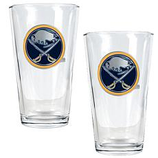 Buffalo Sabres 2pc Pint Ale Glass Set
