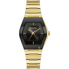 Bulova Futuro Goldtone Stainless Steel Women's Bracelet Watch