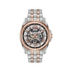 Bulova Men's Automatic 2-Tone Stainless Bracelet Watch