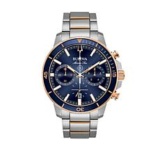 Bulova Men's Marine Star Blue Dial Watch
