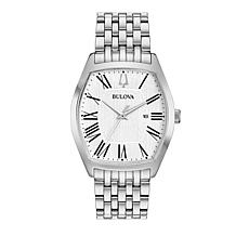 Bulova Women's Classic Tonneau Case Stainless Steel Bracelet Watch