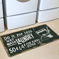 "Bungalow ""Wet Wash"" Floor Mat"