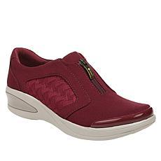 Bzees Florence Washable Zip-Front Shoe