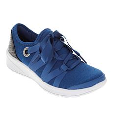 Bzees Glisten Ribbon Lace Washable Sneaker