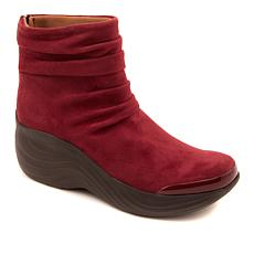Bzees Zizzle Slouch Bootie with Back Zipper
