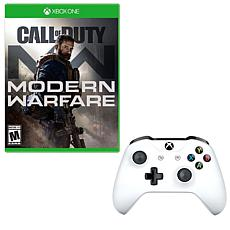 Call of Duty Modern Warfare and Controller for the Xbox One