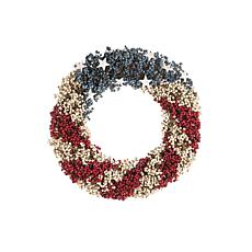 C&F Home Americana Beads Wreath