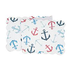 C&F Home Anchors Away Table Runner