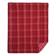 C&F Home Andrew Red Throw