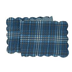 C&F Home Anthony Navy Table Runner