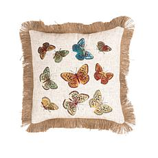 C&F Home Butterfly Pillow