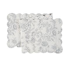 C&F Home Clementina Cement Table Runner