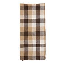 C&F Home Dunmore Plaid Cocoa Towel S-3