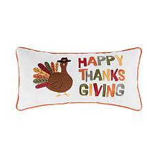 "C&F Home ""Happy Thanksgiving"" Turkey Pillow"