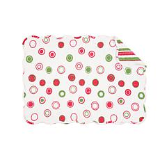 C&F Home Holiday Bubbles Placemat Set of 6