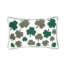 C&F Home Irish Clover Pillow