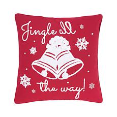 C&F Home Jingle All The Way Pillow