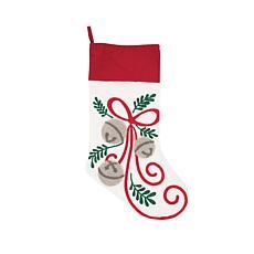C&F Home Jingle Bow Stocking