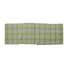 C&F Home Max Plaid TarragonTable Runner