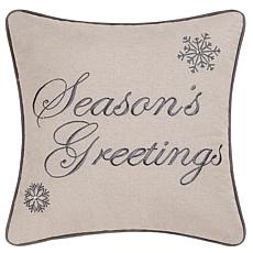 C&F Home Season's Greetings Pillow