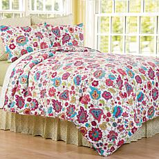 C&F Home Teagan Twin 2 Piece Quilt Set