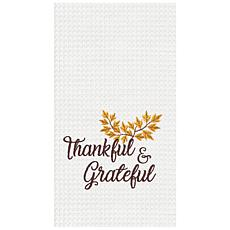 C&F Home Thankful & Grateful Towel Set of 2