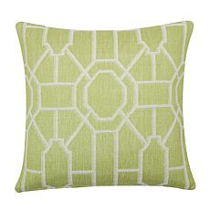 C&F Home Trellis Peridot Woven Pillow