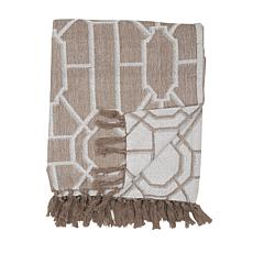 C&F Home Trellis Sandstone Throw