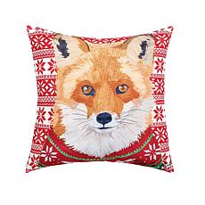 C&F Home Ugly Sweater Fox Pillow