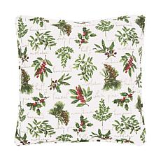 C&F Home Winter Botanical Pillow