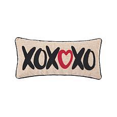 C&F Home XOXO Heart Pillow