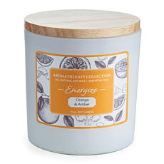 Candle Warmers Energize Aromatherapy 15 oz. Soy Wax Candle