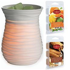 Candle Warmers Etc. Harmony Wax Warmer Bundle with Two Wax Melts