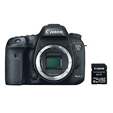 Canon EOS 7D Mark II 20MP DSLR Camera with Wi-Fi Adapter Kit