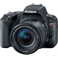 Canon EOS Rebel SL2 DSLR Black Camera with EF-S 18-55mm Lens