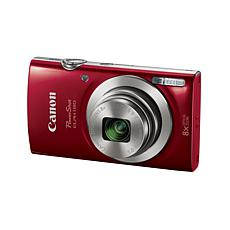 Canon PowerShot ELPH 180 20MP, 8X Optical Zoom Camera Bundle