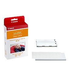 Canon RP-54 Selphy Photo Paper and Ink