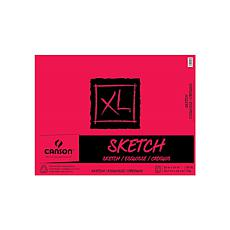 "CANSON XL Fold-Over Sketch Pad of 125 Sheets 18"" x 24"""